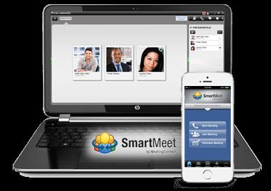smartmeet on laptop